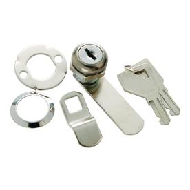 First Watch 1-Pack Chrome Cabinet and Drawer Lock