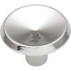 Hickory Hardware Sunnyside Chrome Round Cabinet Knob