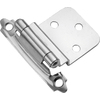 Hickory Hardware 2-Pack 2-5/8-in x 2-1/4-in Chrome Self-Closing Cabinet Hinges