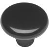 Hickory Hardware Midway Black Round Cabinet Knob