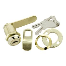 First Watch Polished Brass Utility Cam Lock