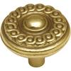 Hickory Hardware Grecian Revival Lancaster Hand Polished Round Cabinet Knob
