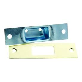 First Watch 1-1/4-in x 4-7/8-in Steel Screen Door and Storm Door Strike Plate