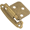 Hickory Hardware 2-Pack 2-1/2-in x 2-in Windover Antique Self-Closing Cabinet Hinges