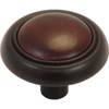 Hickory Hardware 1-1/4-in Windover Antique Gladstone Round Cabinet Knob