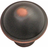 Hickory Hardware Savoy Oil-Rubbed Bronze Highlighted Mushroom Cabinet Knob