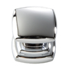 Hickory Hardware Euro-Contemporary Chrome Square Cabinet Knob
