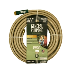 SWAN 5/8-in x 50-ft Medium-Duty Garden Hose