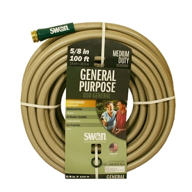 SWAN 5/8-in x 100-ft Medium-Duty Garden Hose