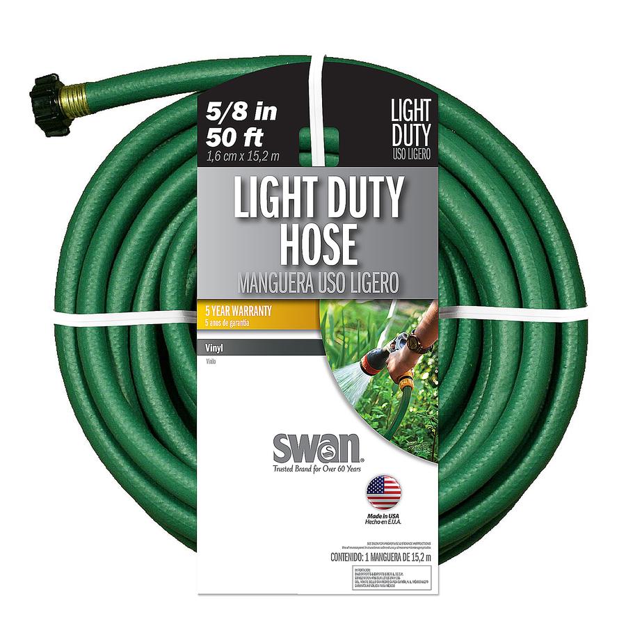 SWAN 5/8 in x 50 ft Light Duty Garden Hose