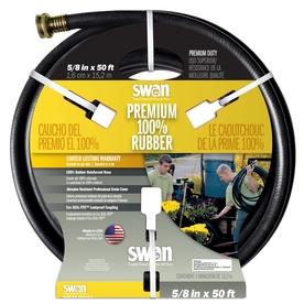 SWAN 5/8-in x 50-ft Contractor-Duty Garden Hose