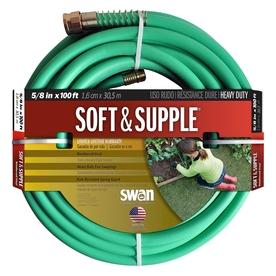 SWAN 5/8-in x 100-ft Heavy-Duty Garden Hose