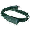 Coleman Cable 9-ft 13-Amp 120-Volt 3-Outlet 16/2 Indoor Extension Cord