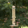 Garden Treasures 2-in-1 Plastic Tube Bird Feeder