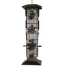 Garden Treasures Plastic Squirrel-Resistant Tube Bird Feeder