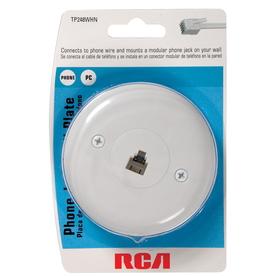 RCA 1-Gang Wall Plate