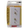 RCA Plastic Multimedia Cable Access Port Wall Jack