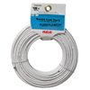 RCA 100&amp;#39; 4-Wire Round Line Cord - White