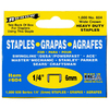 Arrow Fastener 1,000-Count 0.25-in Heavy-Duty Crown Staples