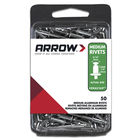 Arrow Fastener 3/16-in Aluminum Rivet
