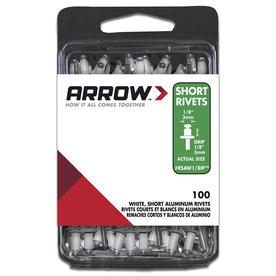 Arrow Fastener 1/8-in Aluminum Rivet