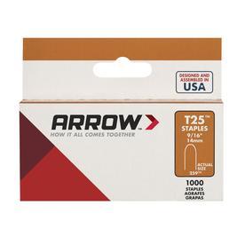 Arrow Fastener 1,000-Count 0.562-in T25 Staples