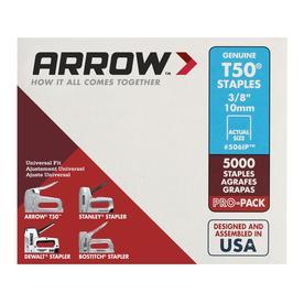 Arrow Fastener 5,000-Count 0.375-in Heavy-Duty Staples