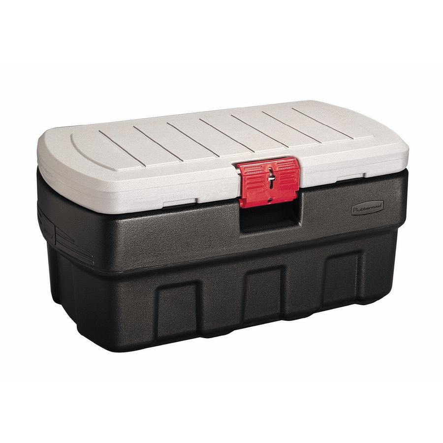 Shop Rubbermaid Actionpacker 35-Gallon Tote with Locking Latch Lid at ...
