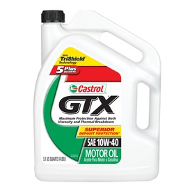 CASTROL 163.2 oz 4-Cycle 10W-40 Conventional Engine Oil