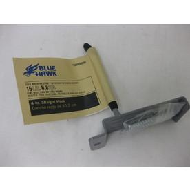 Blue Hawk 4.625-in Steel Straight Hook