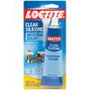 LOCTITE 3 Oz. Interior/Exterior Clear Silicone Waterproof Sealant
