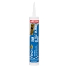 LOCTITE 10 oz White Tub and Tile Latex Kitchen and Bathroom Caulk