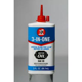 3-IN-ONE 3-oz 3-in-1 Electric Motor Oil