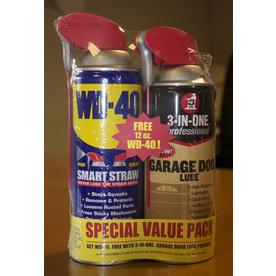 WD-40 12-oz 3-in-1Garage Door Lubricant