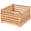BETTER-GRO 5-in H x 8-in W x 5-in D Wood Wood Basket