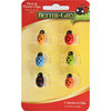 BETTER-GRO 6-Pack Multi-Color Orchid Stem Clips