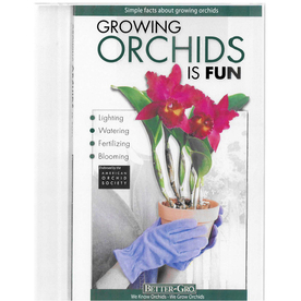 BETTER-GRO Growing Orchids is Fun Orchid Book