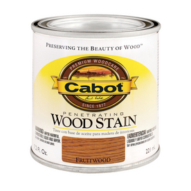 Cabot 8-oz Fruitwood Oil Wood Stain