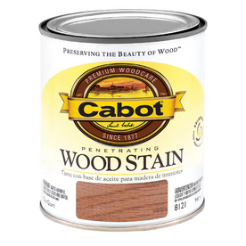 Cabot 1-Quart Brown Mahogany Oil Wood Stain