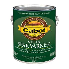Cabot Satin Oil-Based 128 fl oz Varnish