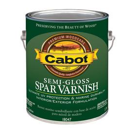 Cabot Semi-Gloss Oil-Based 128 fl oz Varnish