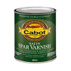 Cabot Satin Oil-Based 32 fl oz Varnish