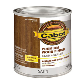 shop cabot 8 fl oz aged leather oil modified interior stain at. Black Bedroom Furniture Sets. Home Design Ideas