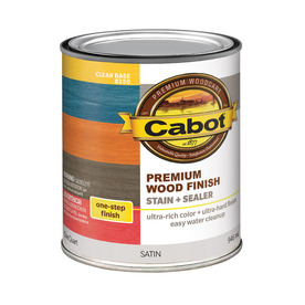 Cabot 32-fl oz Clear Oil-Modified Interior Stain