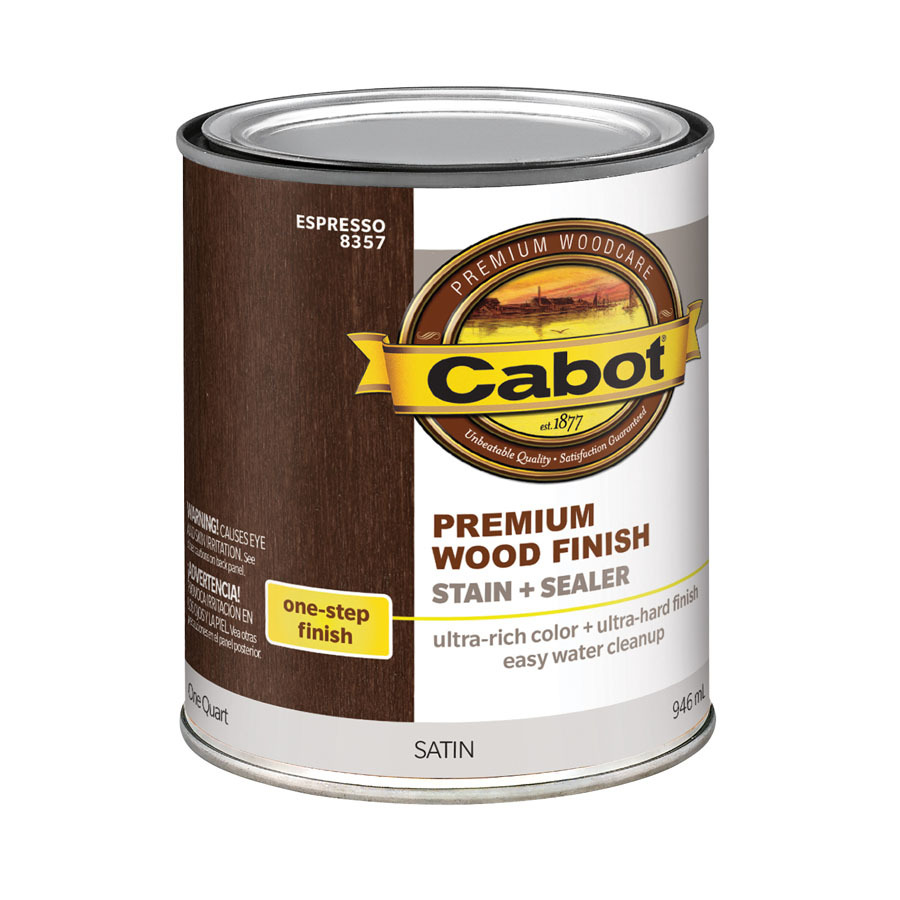 Shop cabot espresso base 32 fl oz interior stain at for Cabot