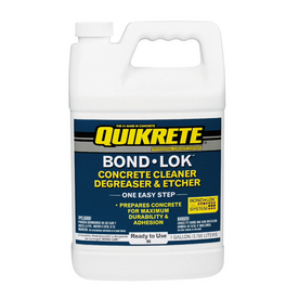 QUIKRETE 1-Gallon Concrete Cleaner, Degreaser and Etcher