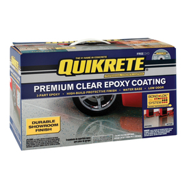 QUIKRETE Gallon Interior Gloss Porch and Floor Clear Paint and Primer in One