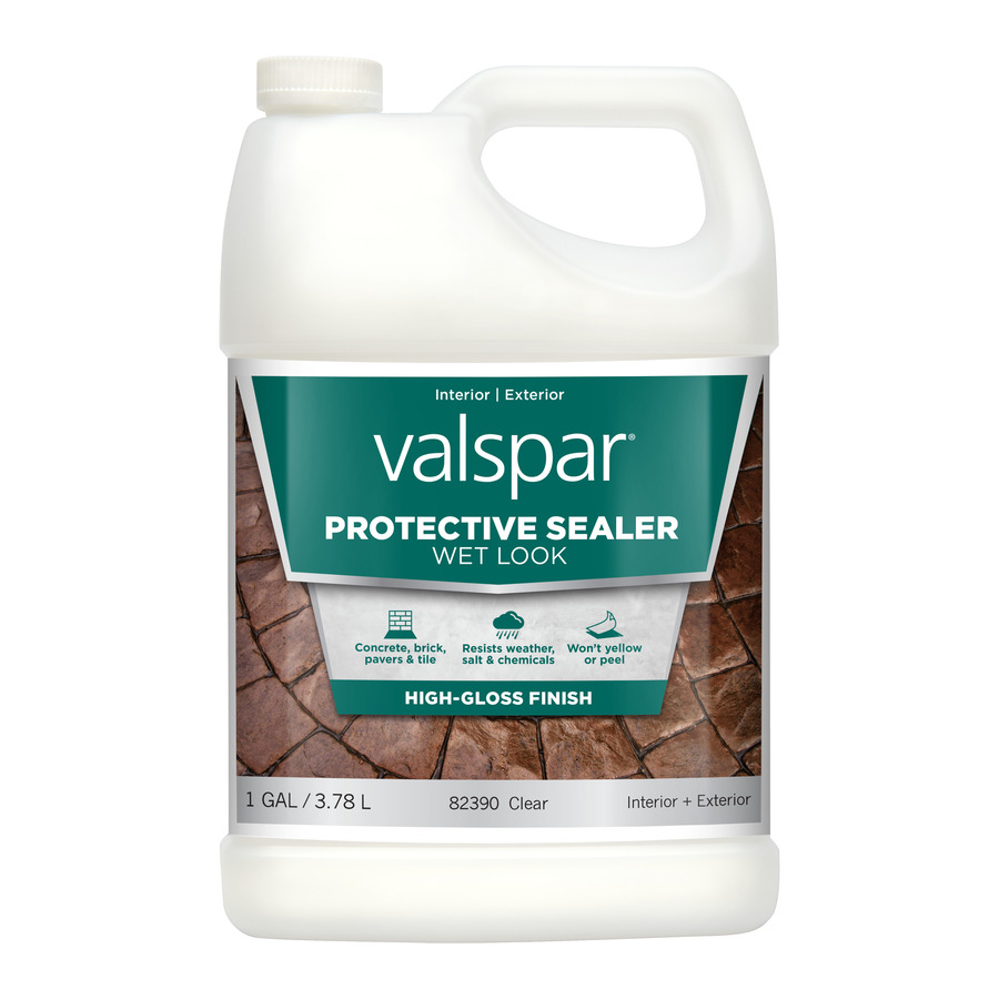 sale10 paint is valspar sealer wet look guarantee paints and primers. Black Bedroom Furniture Sets. Home Design Ideas