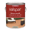 Valspar Gallon Gray VOC Solid Color Concrete Stain