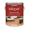 Valspar Gallon Base 2 VOC Solid Color Concrete Stain